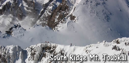 Toubkal South Ridge