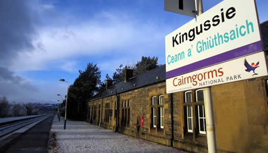 station Kingussie
